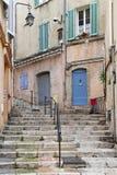 De oude straat van Cannes Royalty-vrije Stock Fotografie