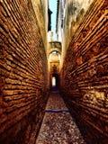 De oude straat van Cordoba Stock Afbeeldingen