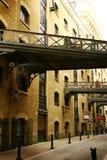 De oude straat van Londen Stock Fotografie
