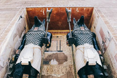 De oude streek van Egypte in Universeel Singapore royalty-vrije stock foto's