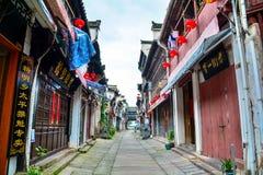 De oude streetï ¼ ˆChinese bouw Huizhou architectureï ¼ ‰ royalty-vrije stock afbeelding