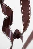 De oude strook van de camerafilm royalty-vrije stock fotografie