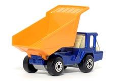 De oude stuk speelgoed Vrachtwagen van de autoAtlas Royalty-vrije Stock Foto