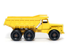 De oude stuk speelgoed Vrachtwagen van de Stortplaats van autoEuclid #3 Stock Afbeeldingen
