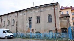 De oude synagoge in Chortkiv Royalty-vrije Stock Fotografie