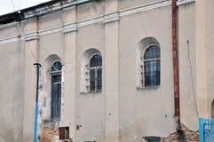 De oude synagoge in Chortkiv Royalty-vrije Stock Foto