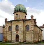De oude synagogebouw Royalty-vrije Stock Foto's