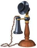 De oude Telefoon van de Stijl Stock Foto's