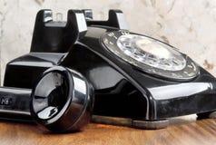 De oude Telefoon van de Stijl royalty-vrije stock fotografie