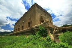 De oude tempel Royalty-vrije Stock Fotografie