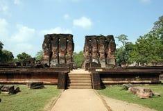 De oude tempel Royalty-vrije Stock Foto