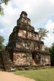De oude tempel Stock Foto