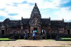 De oude tempel Stock Foto's