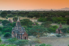 De oude tempel in Bagan Royalty-vrije Stock Afbeelding