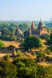 De oude tempel in Bagan, Myanmar Royalty-vrije Stock Foto's