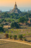De oude tempel in Bagan, Myanmar Stock Afbeelding