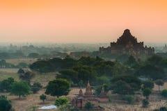 De oude tempel in Bagan, Myanmar Stock Afbeeldingen