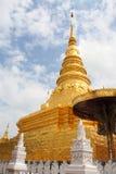De oude tempel in noordelijk Thailand Stock Foto's