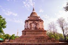 De oude tempel in noordelijk van Thailand Stock Fotografie