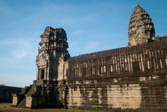 De oude tempel van Angkor Wat Royalty-vrije Stock Afbeeldingen
