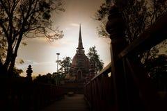 De oude tempel van Thailand royalty-vrije stock fotografie