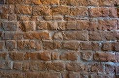 De oude textuur van de bakstenen muurfoto royalty-vrije stock fotografie
