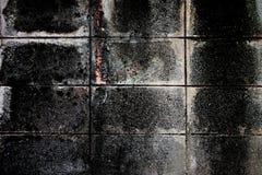 De oude textuur van de cementmuur van donkere kleur Royalty-vrije Stock Foto