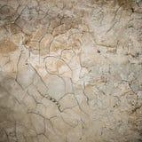 De oude textuur van de gipspleistermuur Stock Foto