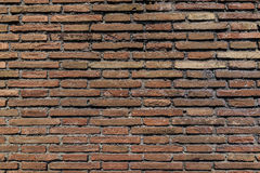 De oude textuur van de grunge rode bakstenen muur als achtergrond royalty-vrije stock afbeelding