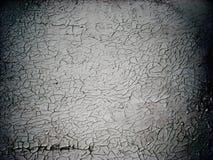 De oude textuur van de Muur met gebarsten verf stock afbeelding