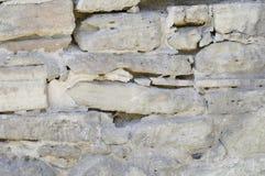 De oude Textuur van de Steenmuur Royalty-vrije Stock Fotografie