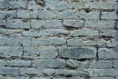De oude textuur van de grunge grijze bakstenen muur Royalty-vrije Stock Afbeelding