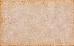 De oude textuur van het boekcanvas Stock Afbeelding