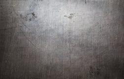 De oude textuur van het grungemetaal royalty-vrije stock afbeeldingen