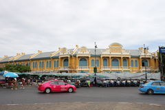 De oude Thaise Bouw royalty-vrije stock fotografie