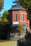 De oude Toren van de Dam. Stock Afbeelding