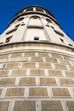 De oude toren van het brandhorloge Royalty-vrije Stock Afbeelding