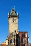 De oude Toren van het Stadhuis Royalty-vrije Stock Afbeeldingen