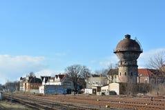 De oude Toren van het Water Stock Fotografie