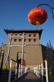 De oude torens van China van Xian royalty-vrije stock foto