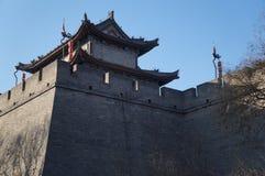 De oude torens van China van Xian stock fotografie