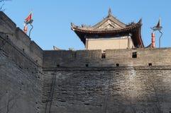 De oude torens van China van Xian stock foto's