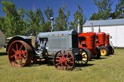 De oude tractor van McCormick Deering Royalty-vrije Stock Foto's