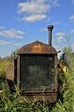 De oude tractor van McCormick Deering stock afbeelding