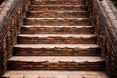De oude trap Royalty-vrije Stock Foto's