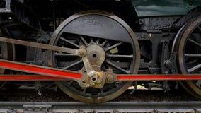 De oude Trein van de Motor van de Stoom royalty-vrije stock foto