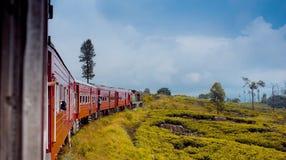 De oude trein van Sri Lanka Stock Foto