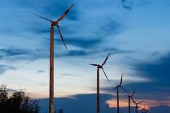De oude Turbine van de Wind royalty-vrije stock foto's