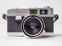 De oude Uitstekende Camera van de Film bekijkt rechtdoor Stock Foto