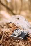 De oude Uitstekende Camera van de klein-Formaatafstandsmeter, 1950-jaren '60 Royalty-vrije Stock Foto